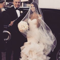Goals, to have a picture like this when I get out of the limo. She looks so…