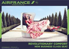 Great vintage ads! Air France's Stylish Campaign Features Destinations As Glamorous Fashion Ads - DesignTAXI.com