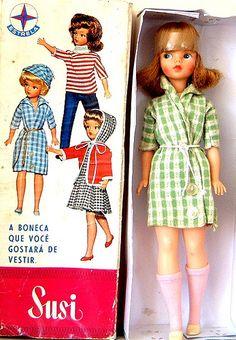 doll - Susi - 60's - factory Estrela, Brazil