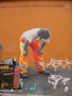Berlin had the MOST amazing 'street art'…which was basically beautiful creations of grafitti.