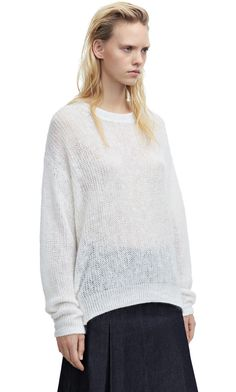 Bernike mohair off white