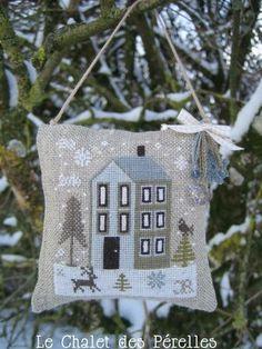 тысяча разных идей - Новогодние подарки с вышивкой.