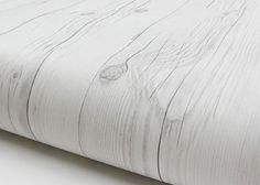 Vintage Wood White Wood Self Adhesive Vinyl Decorative Cover Wallpaper Rolls New…