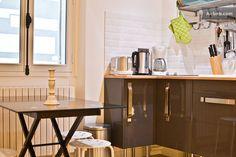 Open kitchen in Montmartre