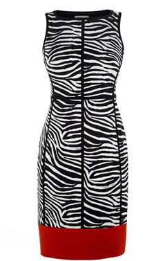 Karen Millen, Zebra Print Pencil Dress