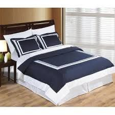 navy and white duvet cover queen - Google Search