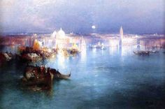 Venice from San Giorgio by Thomas Moran