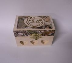 CAMOUFLAGE Wedding Party Camo Ring Bearer Pillow Box Wood Deer Hunting Redneck #custom