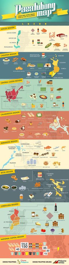 The Pasalubong Map: Luzon Choose Philippines. Find. Discover. Share.