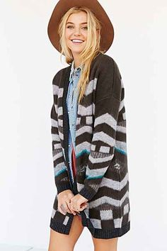 Ecote Southwest Cardigan Sweater - Urban Outfitters
