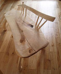 Elizabeth Cadd, Wood turning and traditional woodland items