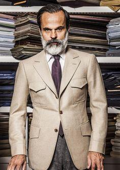 favd_iqfashion-April 29 2017 at Mens Fashion Suits, Mens Suits, 3 Piece Tweed Suit, Dandy Style, Designer Suits For Men, Bespoke Suit, Safari Jacket, Suit And Tie, Gentleman Style