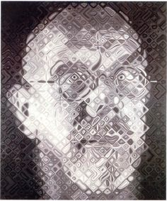 Self-Portrait by Chuck Close (2002-2003) | Embracing Differences