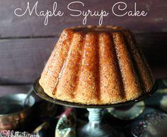 ~Maple Syrup Cake!