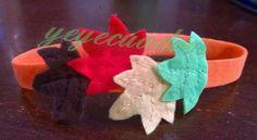 Diadema hojas de otoño