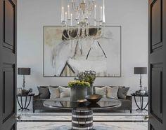 Stylish sitting room