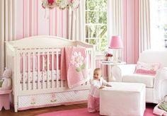 Inspiratie voor roze babykamer