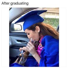 @tokerchicks know exactly what I did after I graduated.  #stonergram #stoner #weed #weedgram #weedstagram420 #weedstagram #weedporn #instaweed #weed420feed #420 #high #highaf #cannabis #cannabiscommunity #dailycannabis #bud #kush #ogkush #dank #sativa #indica #stayblazed #chronicfeed #kush #faded #stonerdays #ganja #hightimes #stayhigh #staylifted by weed420memes
