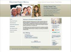 Website Design for Stratford Dentistry -web design-