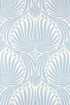 Lotus wallpaper from Farrow & Ball