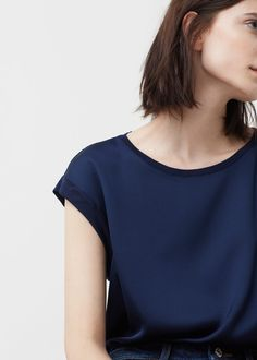 Contrasting t-shirt   MANGO