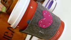 The L Family Blog: Make it Monday  I <3 Coffee.    COFFEE SLEEVE TUTORIAL