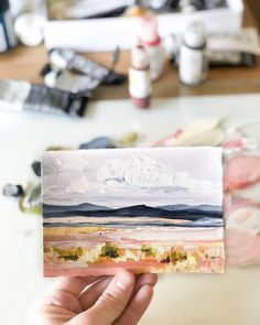 Painting & Drawing, Artist Painting, Watercolor Paintings, Painting Inspiration, Art Inspo, Illustrations, Illustration Art, Landscape Art, Western Landscape