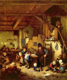 Adriaen Jansz van Ostade - The School Master | Flickr - Photo Sharing!