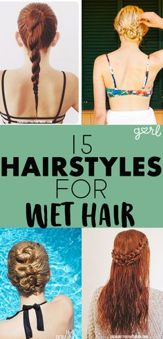 """During the hot months of the summer, the last thing any girl with long-ish hair wants to do is turn on a blow dryer, then stand in front of a mirror and tire out her arms trying to get a good at-home blowout.It is so much easier and more comfortable to step out of a refreshing shower and leave your wet strands alone to do their thing. Unfortunately, """"do their thing"""" can very often mean """"turn into a mix of frizzy and flat pieces of hair that make it seem like you slept on it."""""""