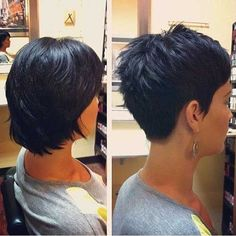 35 Amazing & Cute Short Pixie Hairstyles & Haircuts - Short Haircut Z Short Pixie Haircuts, Cute Hairstyles For Short Hair, Hairstyles Haircuts, Curly Hair Styles, Haircut Short, Pixie Styles, Short Styles, Wedding Hairstyles, Pixie Haircut For Thick Hair