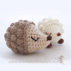 Diddy hedgehog - free pattern