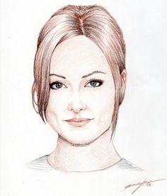 Olivia Wilde - Renegarj - Colored Pencils