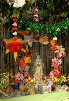 Virgen de Guadalupe Altar