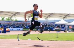Oscar Pistorius has been selected to run in both the individual 400 metres and the relay at the London Olympics and is set to become the first amputee track athlete to compete at any Games. Oscar Pistorius, Ufc, 2012 Summer Olympics, Nbc Olympics, Feel Good Stories, Fastest Man, Blade Runner, Track And Field, Olympians