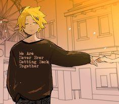Kaminari Denki - Boku no Hero Academia - Image - Zerochan Anime Image Board Boku No Hero Academia, My Hero Academia Manga, Hero Academia Characters, Anime Characters, Human Pikachu, Bakugou And Uraraka, Bakugou Manga, Manga Comics, Me Anime