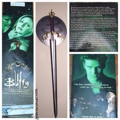 Buffy the Vampire Slayer - Factory X - Sword of Angelus. #btvscollector #btvs…