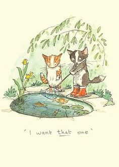 'I want that one'~ By Anita Jeram