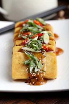 This Asian Panisse will make a delicious side dish at your next dinner party.
