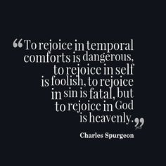 Rejoice on the Lord - Charles Spurgeon