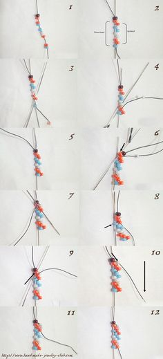 10 Easy Tutorials for Beaded Jewelry | 10awesome.com