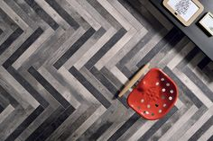 CHEVRONCHIC COLLECTION / BY CERAMICA FIORANESE / YEAR 2015 | CHEVRONCHIC wood-effect porcelain stoneware is inspired by old wooden floors, with clear signs of changing colour shades after layers of wax and stains.@fioranese #cersaie2015