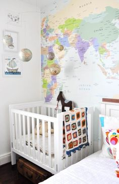 Travel-Inspired Nurseries & Kids Rooms Roundup