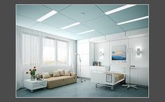 Hunter Douglas Contract at Techstyle Canvas - Hospital Concept