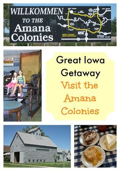 The Amana Colonies have been welcoming travelers for over 150 years with great German food and a wonderfully relaxed atmosphere. Vacation Destinations, Dream Vacations, Vacation Spots, Family Vacations, Vacation Ideas, Amana Colonies, Cedar Rapids, Travel Usa, Summer Fun