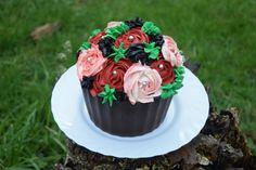 Cupcake géant bouquet (64)