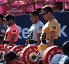 Rich Froning, Jason Khalipa and Ben Smith Crossfit Men, Crossfit Motivation, Reebok Crossfit, Crossfit Athletes, Rich Froning, Healthy Beauty, Gym Training, New Tricks, Powerlifting