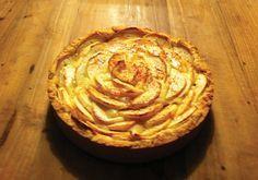 Appel-mascarpone taart!