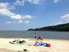 Beach Fun & Fossil Hunting at Flag Ponds Nature Park | KidFriendly DC