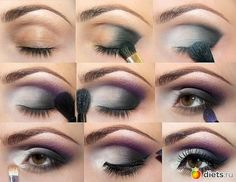 Пошаговая фото-инструкция для свадебного макияжа: тёмный макияж глаз. - 15 Декабря 2013 - Blog - Head