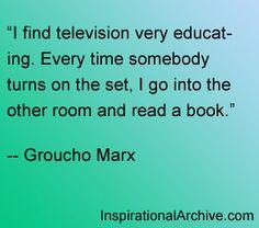 Groucho Marx quote